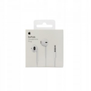 APPLE EARPODS Słuchawki iPhone MNHF2ZM/A 3,5mm