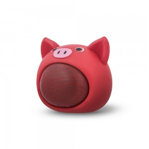 Głośnik Bluetooth Sweet Animal Pig Rose Forever ABS-100